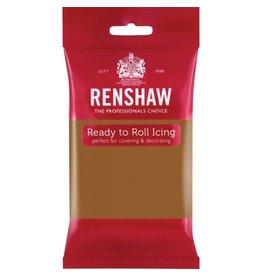 Renshaw Rolfondant 250g teddy beer bruin