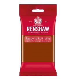 Renshaw Rolfondant 250g donker bruin