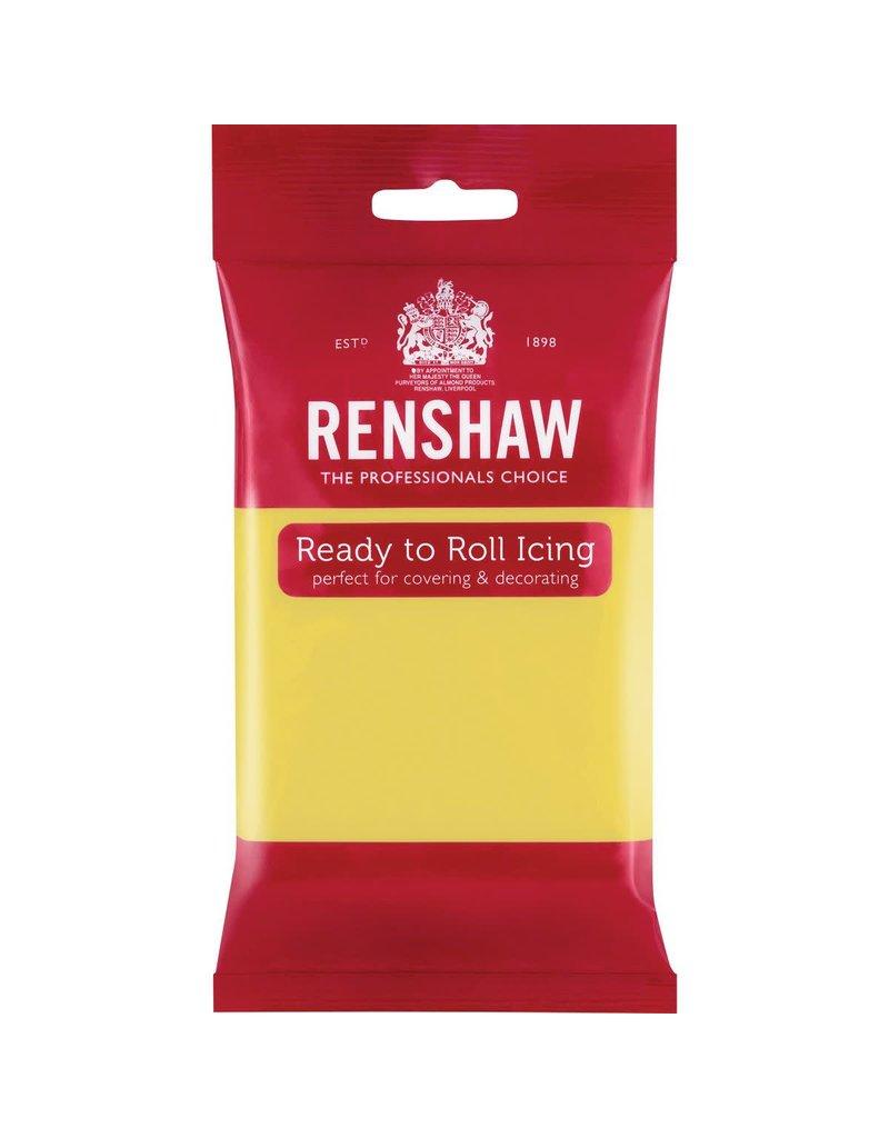 Renshaw Rolfondant 250g pastel geel