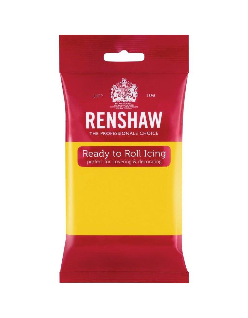 Renshaw Rolfondant 250g geel