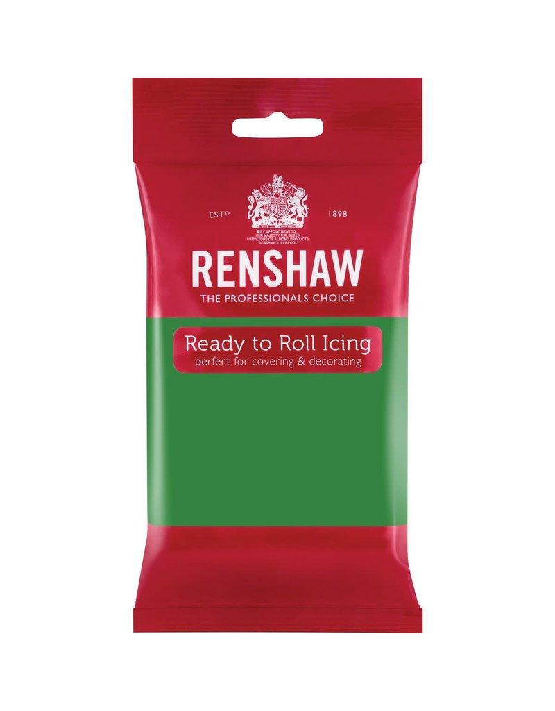 Renshaw Rolfondant 250g donker groen