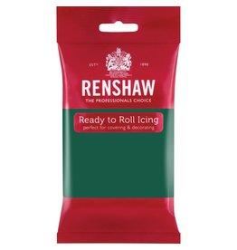 Renshaw Rolfondant 250g smaragd groen
