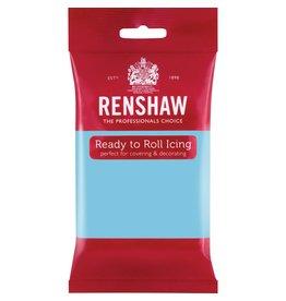 Renshaw Rolfondant 250g baby blauw