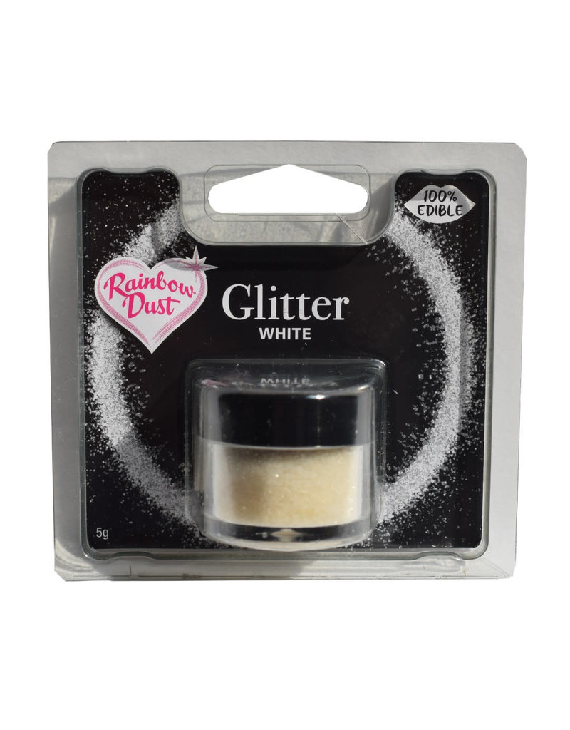Rainbow Dust RD Glitter White