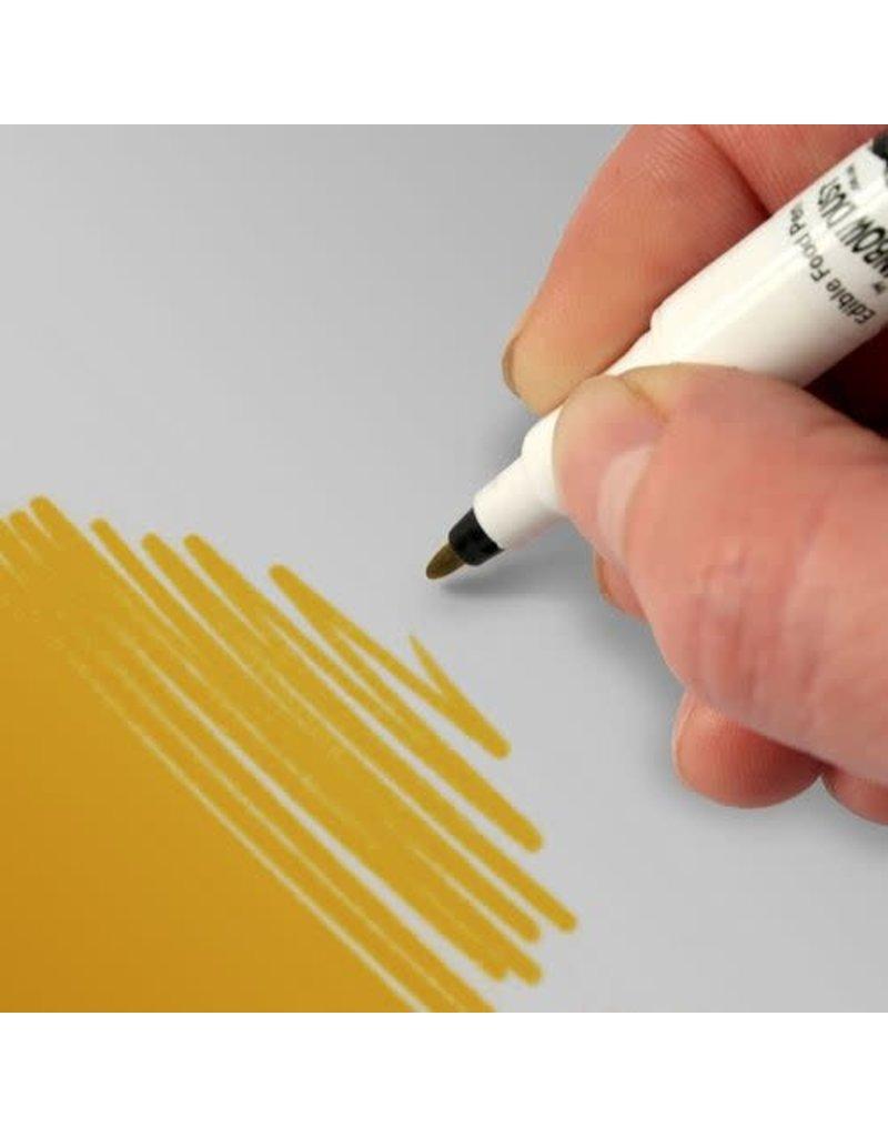 Rainbow Dust RD Cake Craft Pen Bright Gold