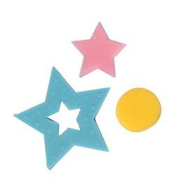 Cake Star Plunger cutter - Figuurtjes set/6