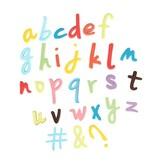 Cake Star Plunger cutter - Letters Script