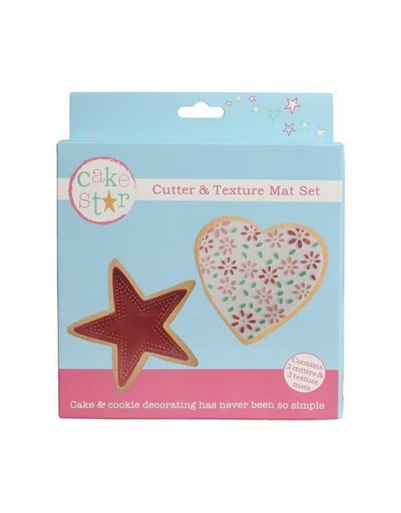 Cake Star Uitsteker - Hart en ster set/2