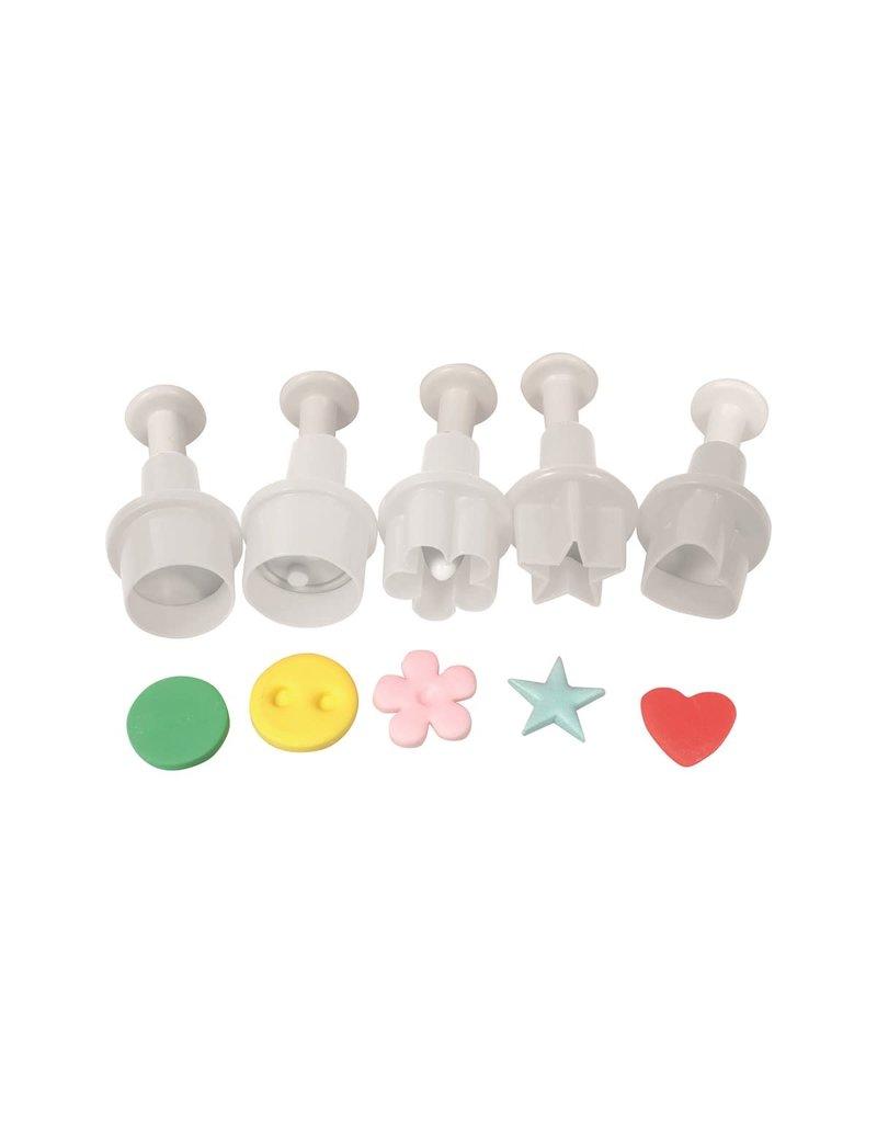 Cake Star Plunger cutter - Mini figuren set/5