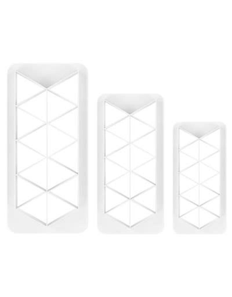 PME Geometric cutter - Driehoek set/3