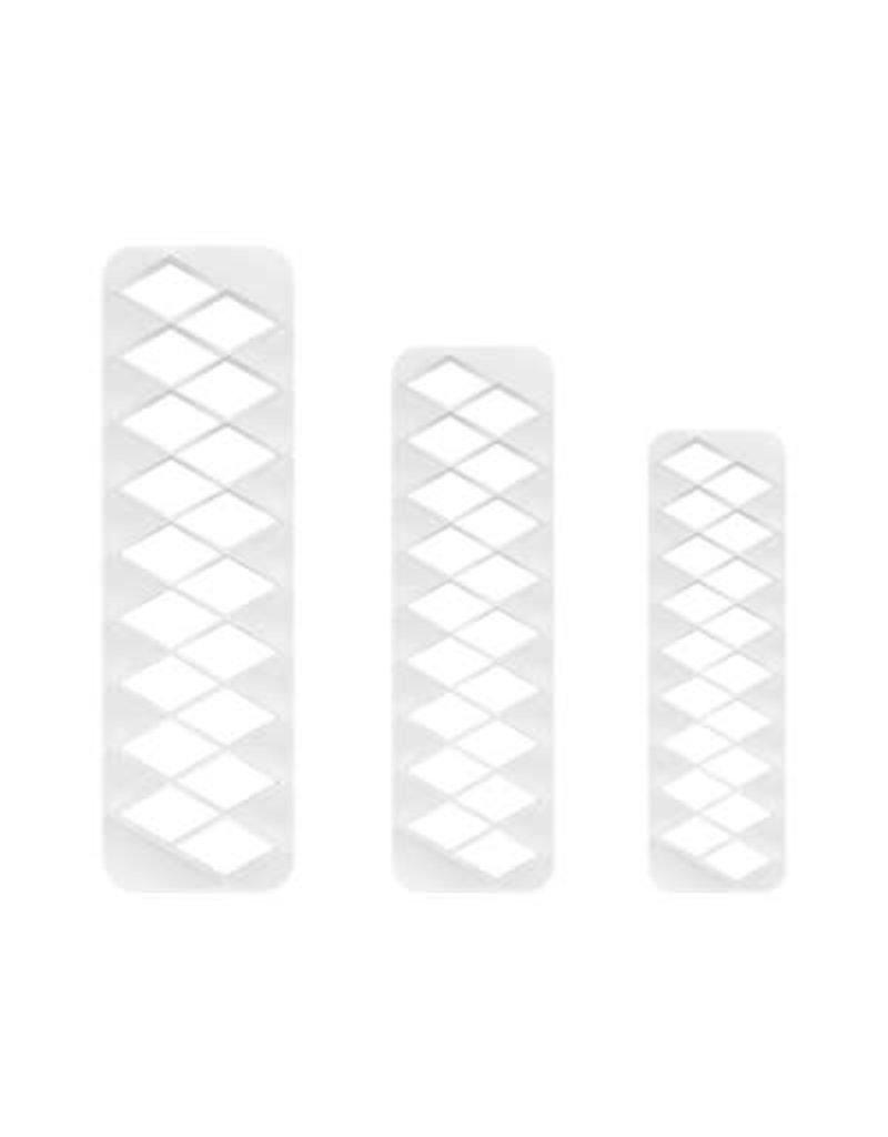 PME Geometric cutter - Diamont set/3
