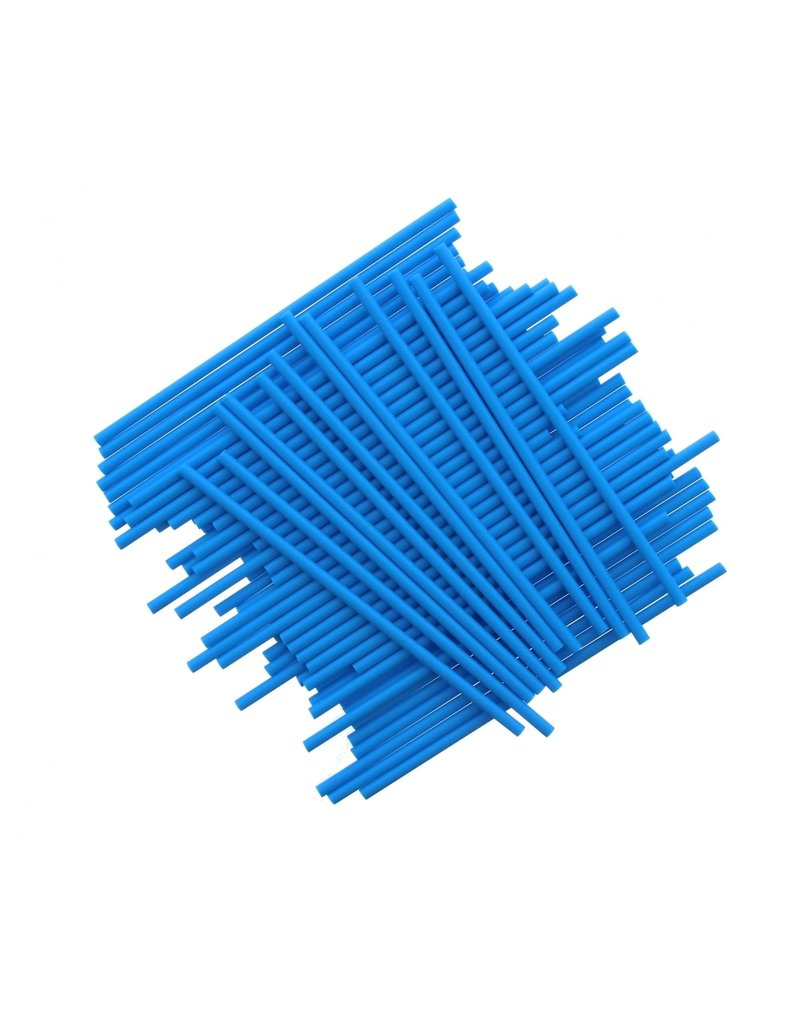 2. Sweet Store Stokjes blauw 15cm - 25 stuks