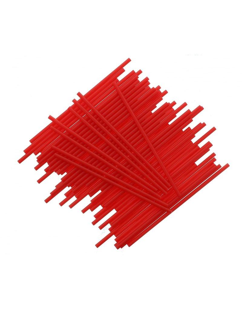 2. Sweet Store Stokjes rood 15cm - 25 stuks