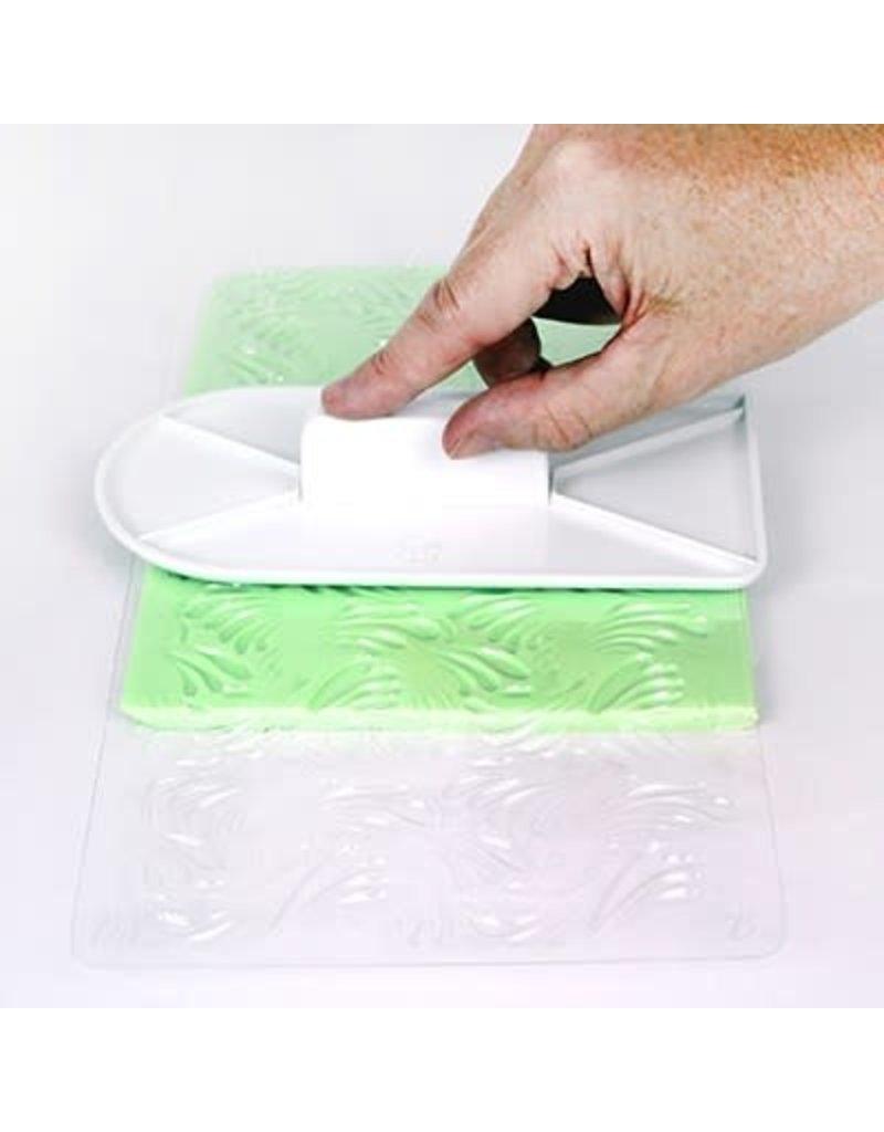 PME Impression mat - Elegant Wave Design