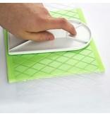 PME Impression mat - Small diamond