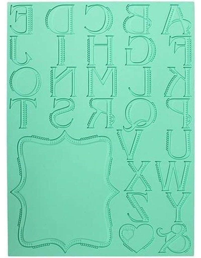 Pavoni Lace letter mat