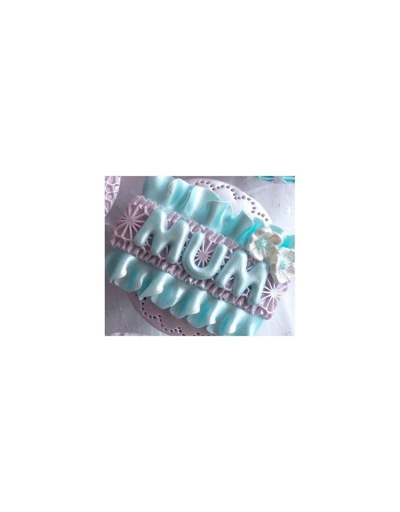 Katy Sue Designs Mold - Domed Alfabet Hoofdletter