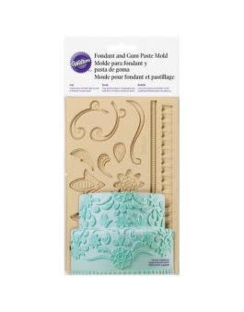 Wilton Mold - Lace