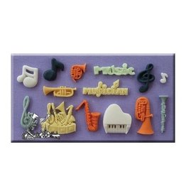 Alphabetmoulds Mold - Muziek