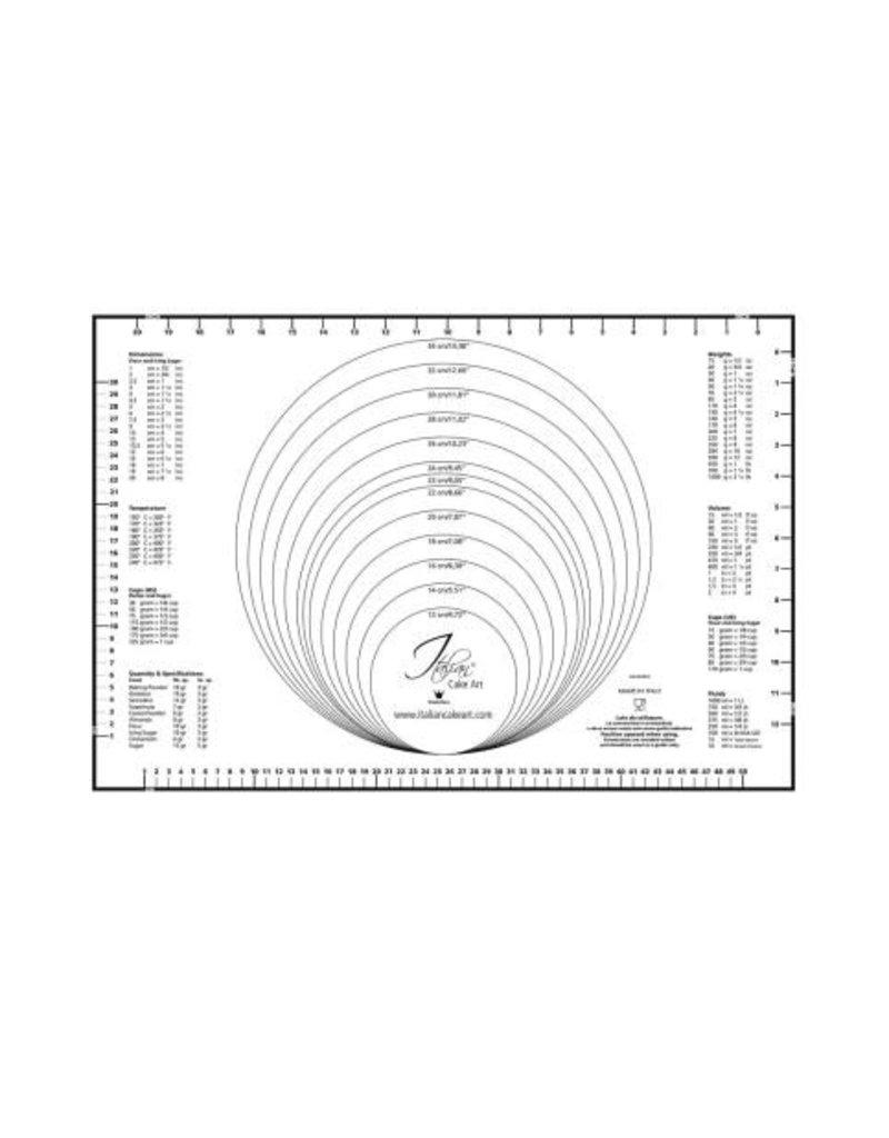 Martellato Uitrolmat met maatindeling 60x40 cm
