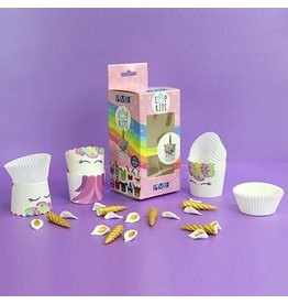 PME Cupcake kit - Unicorn 6st