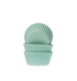 House Of Marie Cupcake cups - mini - mint groen - 60st