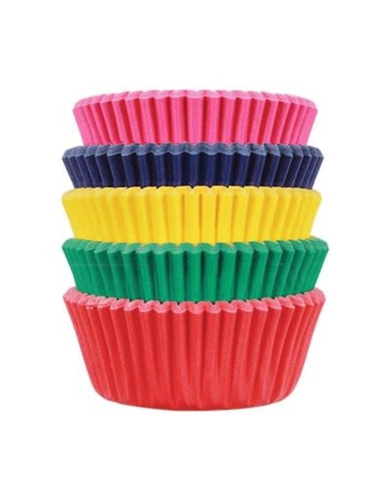 PME Cupcake cups - mini - carnival - 100st