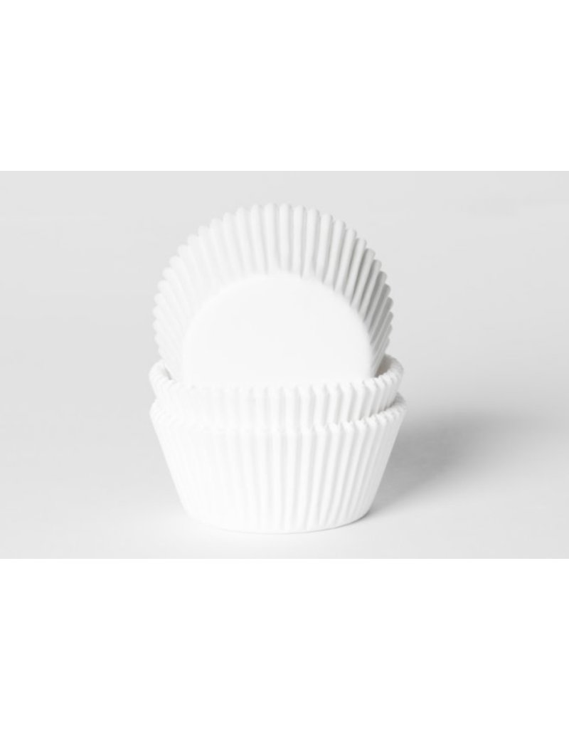 House Of Marie Cupcake cups - wit - 50st