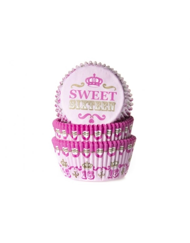 House Of Marie Cupcake cups - sweet sixteen - 50st