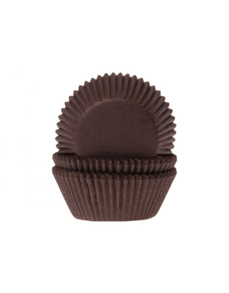 House Of Marie Cupcake cups - bruin - 50st