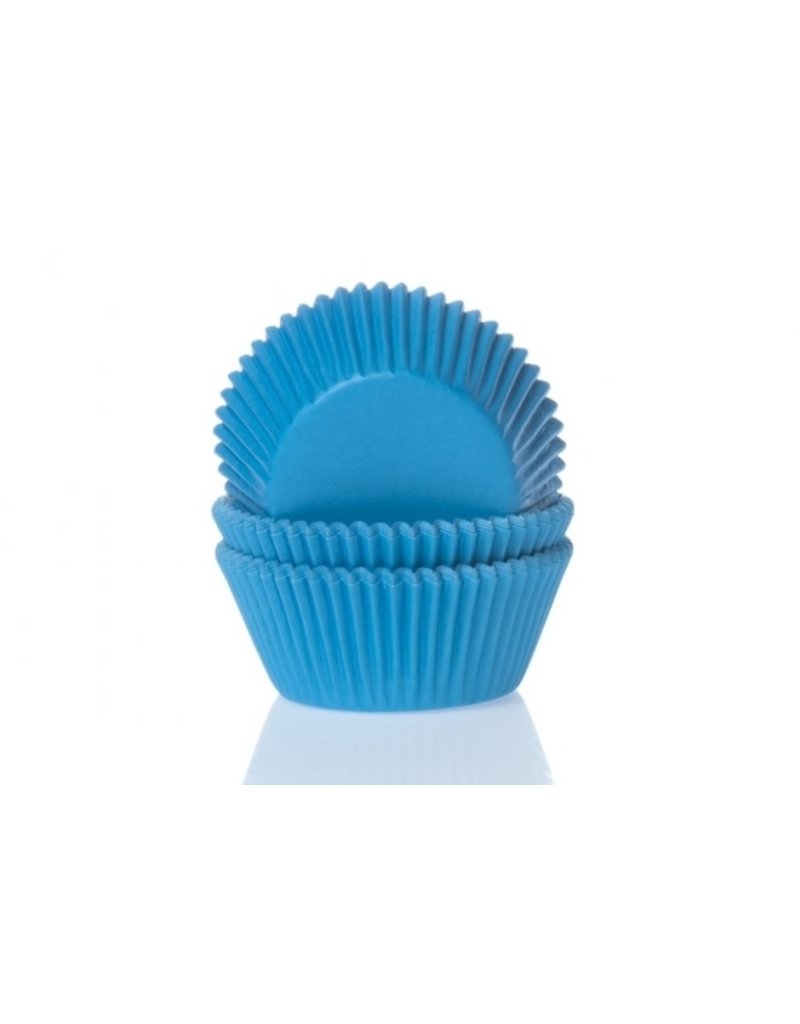 House Of Marie Cupcake cups - blauw - 50st