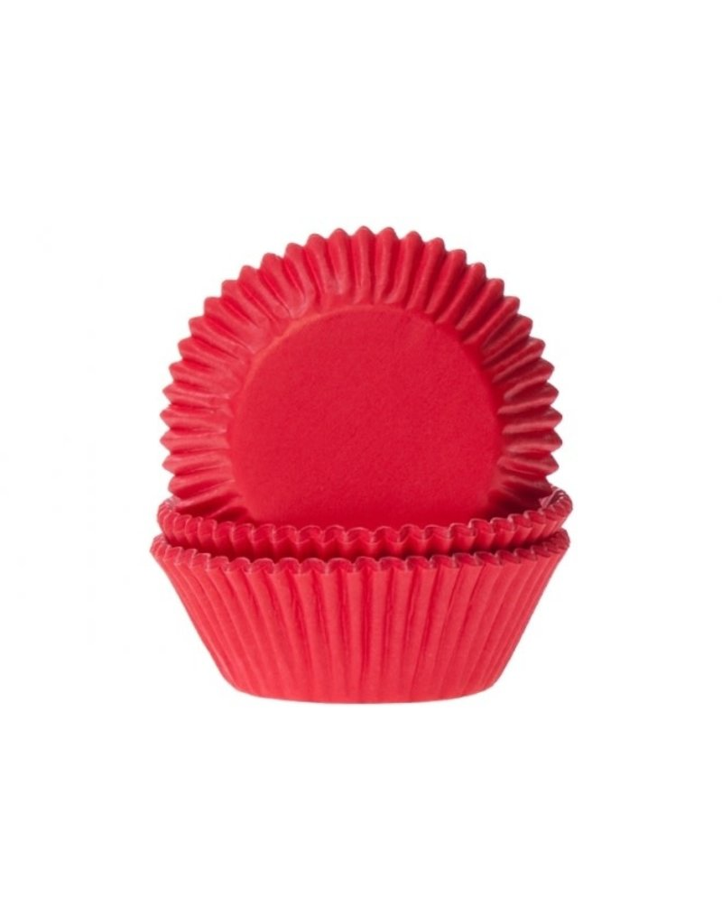 House Of Marie Cupcake cups - rood - 50st