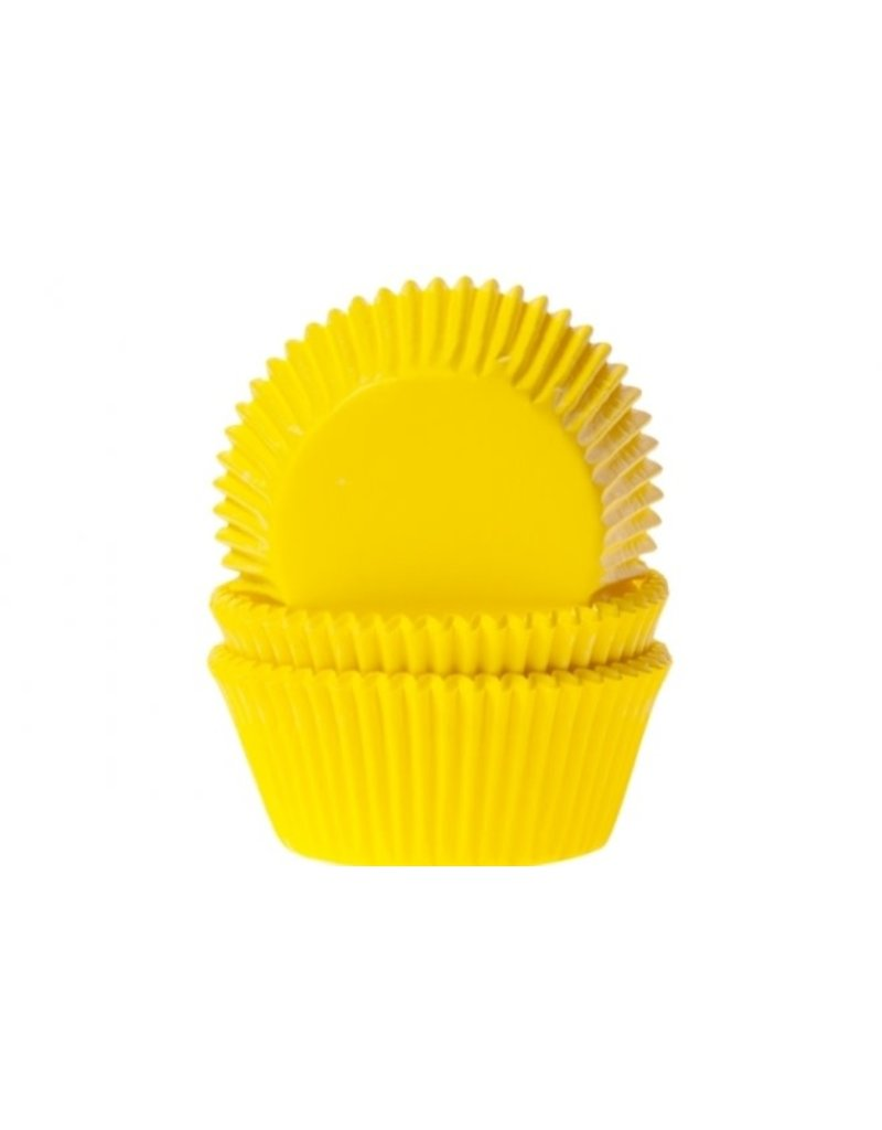 House Of Marie Cupcake cups - geel - 50st