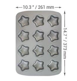 PME Bakvorm - Mini ster 12st