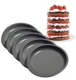 Wilton Bakvom - Easy layers rond 15cm set/5