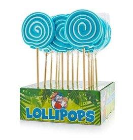 Felko Spiral pop blue lolly