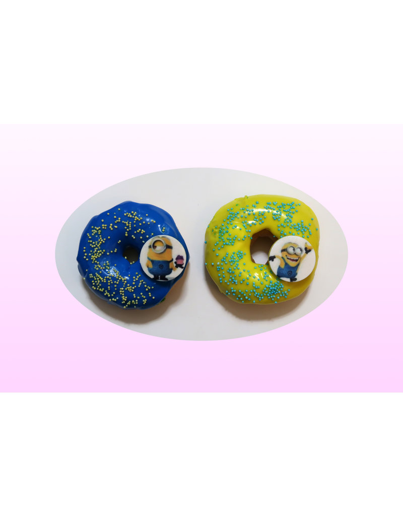 1. Sweet Planet Minion donuts