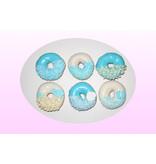 1. Sweet Planet Blauwe donuts