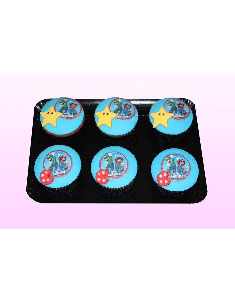 1. Sweet Planet Mario cupcakes