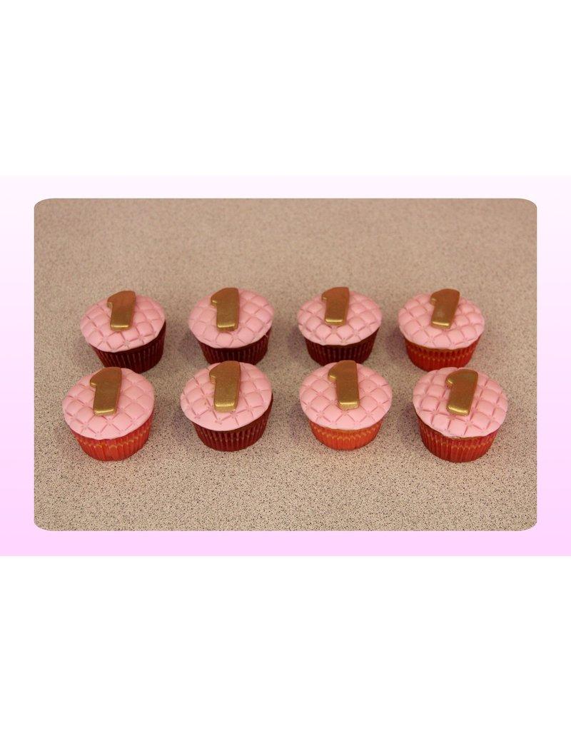 1. Sweet Planet Cijfer / Letter cupcakes