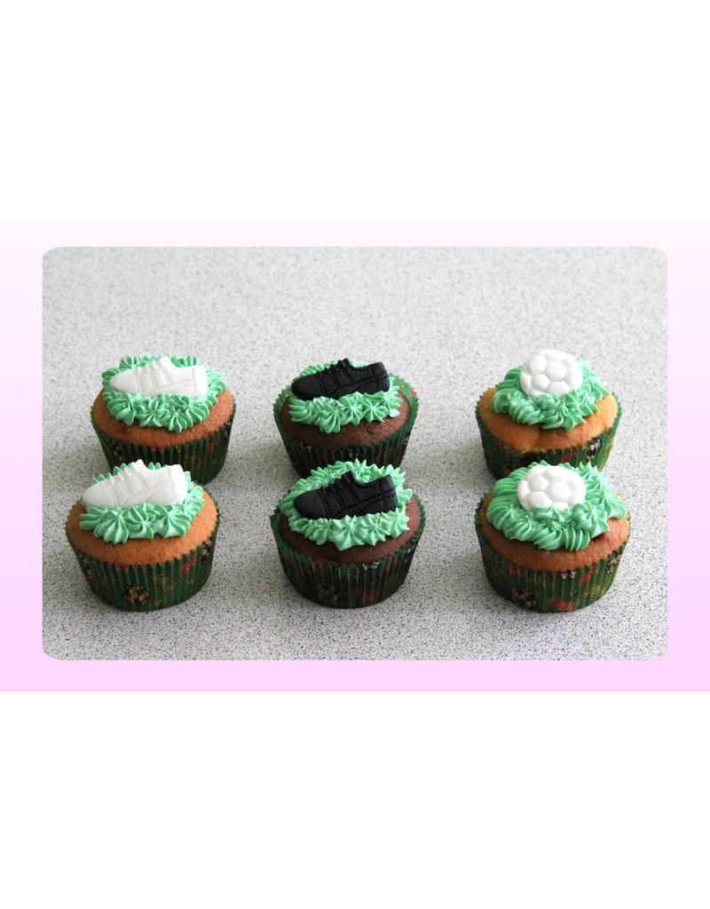 1. Sweet Planet Voetbal cupcakes