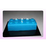 1. Sweet Planet Lego blok 3D taart