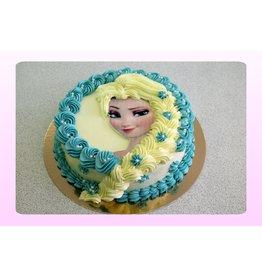 1. Sweet Planet Frozen taart model 1