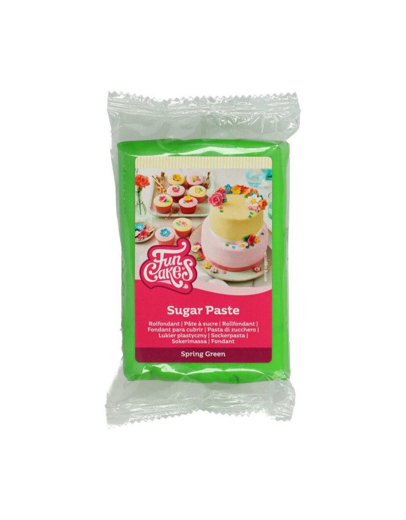 Funcakes Fondant 250g spring green