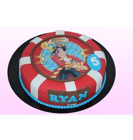 1. Sweet Planet Piet Piraat taart model 1