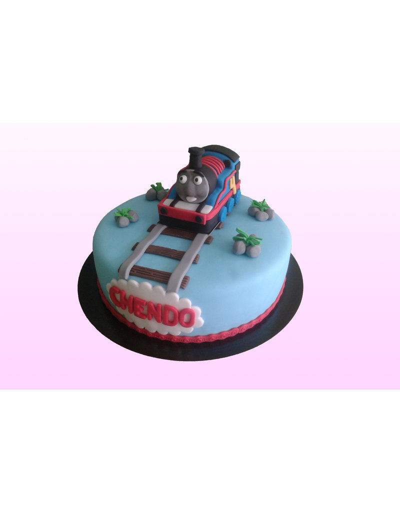 1. Sweet Planet Thomas de trein taart