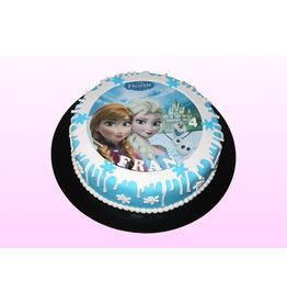 1. Sweet Planet Frozen taart model 2