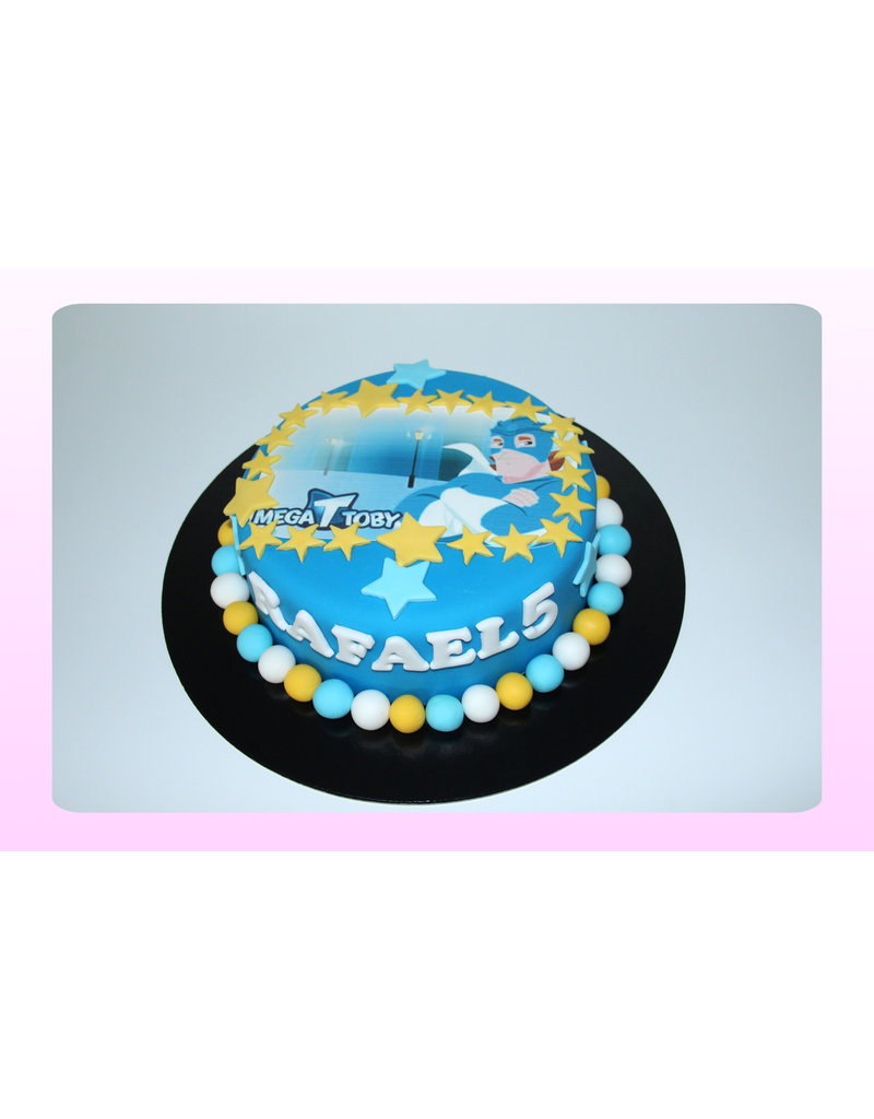 1. Sweet Planet Mega Toby taart