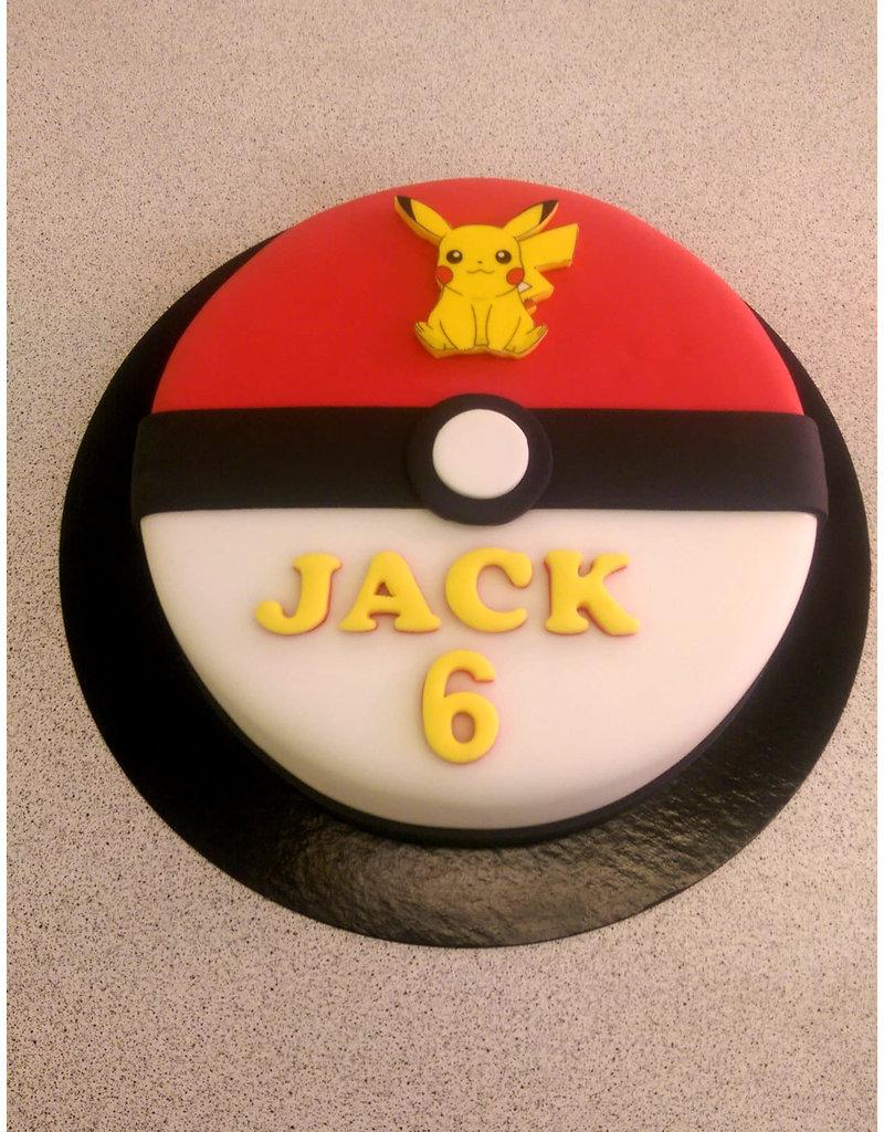1. Sweet Planet Pokemon taart model 2
