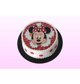 1. Sweet Planet Minnie Mouse taart model 3